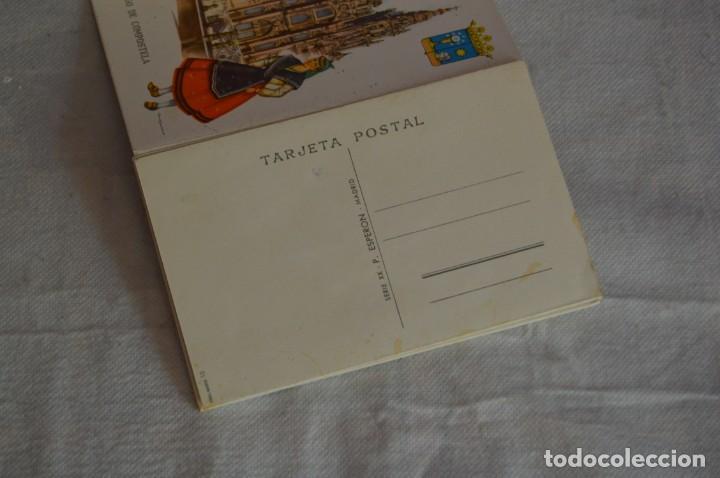 Postales: AANTIGUO SET / LIBRITO DE POSTALES CON BRILLO / BRILLANTINA - ESPERÓN - ESPAÑA 10 CATEDRALES - Foto 12 - 134647118