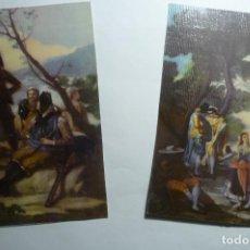 Postales: LOTE POSTALES PINTURA CM. Lote 134872306