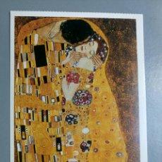 Postales: POSTAL GUSTAV KLIMT THE KISS DETAIL. Lote 135226567
