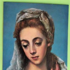 Cartoline: CUADRO: ECCE MATER DE EL GRECO. CC. MARIANAS. NUEVA. COLOR. DORSO CON MANCHAS.. Lote 135661993
