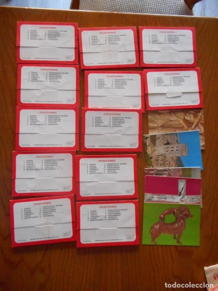 POSTALES ARTE, COLECCIÓN PERLA. COMPLETA CON 12 LIBRITOS DE 9 POSTALES CADA UNA.MUY DIFÍCIL COMPLETA (Postales - Postales Temáticas - Arte)
