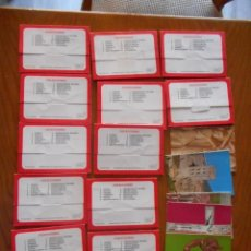 Postales: POSTALES ARTE, COLECCIÓN PERLA. COMPLETA CON 12 LIBRITOS DE 9 POSTALES CADA UNA.MUY DIFÍCIL COMPLETA. Lote 136221862