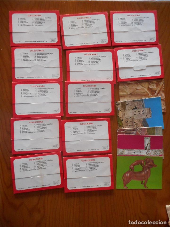 Postales: Postales Arte, Colección Perla. Completa con 12 libritos de 9 postales cada una.Muy difícil completa - Foto 2 - 136221862