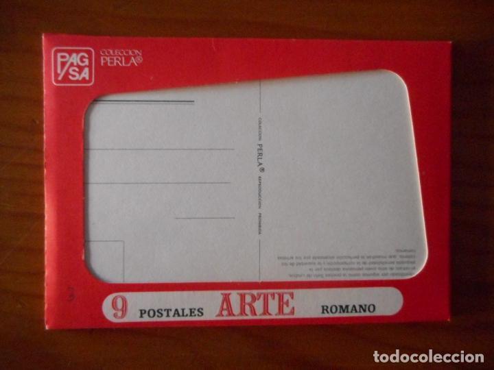Postales: Postales Arte, Colección Perla. Completa con 12 libritos de 9 postales cada una.Muy difícil completa - Foto 4 - 136221862