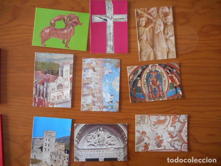 Postales: Postales Arte, Colección Perla. Completa con 12 libritos de 9 postales cada una.Muy difícil completa - Foto 5 - 136221862