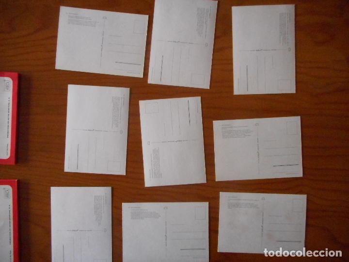 Postales: Postales Arte, Colección Perla. Completa con 12 libritos de 9 postales cada una.Muy difícil completa - Foto 6 - 136221862
