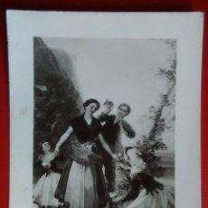 Postales: POSTAL FOTOGRAFÍA FRANCISCO GOYA LAS FLORERAS AÑO 1952. Lote 136316397