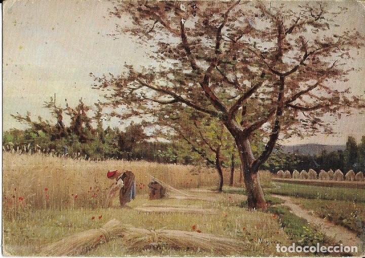== B303 - POSTAL - LA SIEGA - JOAQUÍN VAYREDA - MUSEO DE ARTE MODERNO - BARCELONA (Postales - Postales Temáticas - Arte)