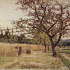 Postales: == B303 - POSTAL - LA SIEGA - JOAQUÍN VAYREDA - MUSEO DE ARTE MODERNO - BARCELONA. Lote 137703938