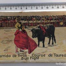 Postales: 20 POSTALES CORRIDA DE TOROS. BULL FIGHT. ROISIN. COLOREADAS. Lote 138961241