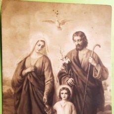 Postales: SAGRADA FAMILIA. USADA.. Lote 139383797