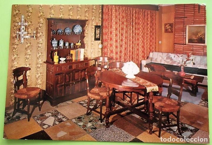 muebles de artesanía. 6 comedor apartamento. do - Comprar Postales ...