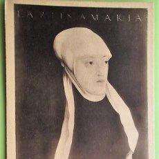 Postais: MARÍA DE AUSTRIA DE SEISENEGGER. NUEVA. BLANCO/NEGRO. Lote 139384473