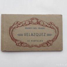 Postales: ALBUM TACO, LOTE 14 POSTALES MUSEO DEL PRADO, VELAZQUEZ. Lote 139932074