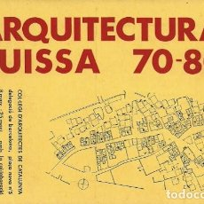 Postales: ARQUITECTURA SUISSA 70-80 - COL.LEGI D'ARQUITECTES DE CATALUNYA (COAC) - 80'S. Lote 140108442