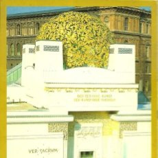 Postales: WIEN SECESSION - ERBAUT 1898 IM JUGENDSTIL VON JOSEF-MARIA OLBRICH - 80'S. Lote 140138638