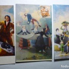 Postales: LOTE POSTALES MUSEO DEL PRADO-CIRCULADAS CM. Lote 140460874