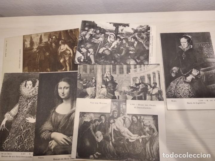 Postales: 25 TARJETA POSTAL OBRAS MUSEO PRADO - Foto 2 - 140685638