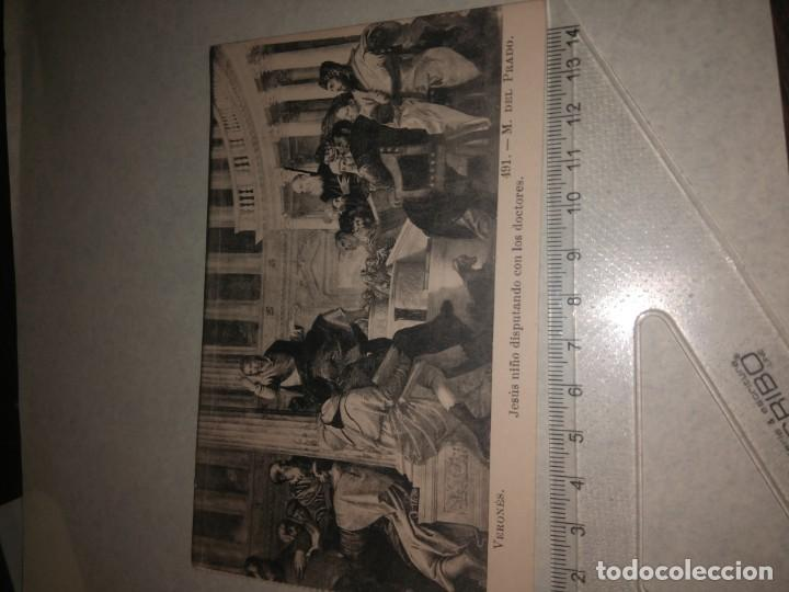 Postales: 25 TARJETA POSTAL OBRAS MUSEO PRADO - Foto 6 - 140685638
