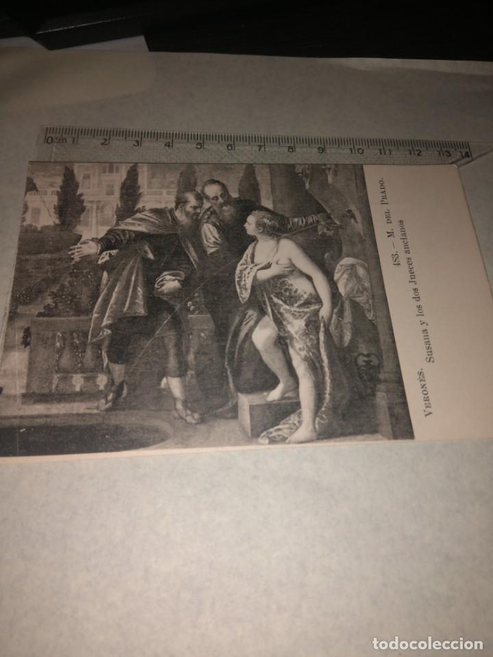 Postales: 25 TARJETA POSTAL OBRAS MUSEO PRADO - Foto 15 - 140685638