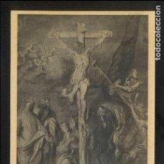 Postales: *A. VAN DYCK - LE CRUCIFIEMENT* MUSÉE DE BRUXELLES. ED. NELS Nº 93. NUEVA.. Lote 141224030