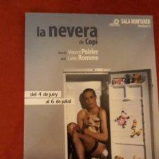 Postales: POSTAL SALA MUNTANER. LA NEVERA DE COPI.. Lote 142459462
