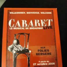 Postales: POSTAL FRANCESA FOLIES BERGÈRE. CABARET. 2006.. Lote 142462658