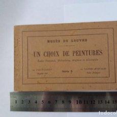 Postales: MUSEE DU LOUVRE - UN CHOIX DE PEINTURES - 22 CARTES POSTALES - SERIE 5. Lote 143372862