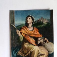 Postales: TARJETA POSTAL - PISA - CATTEDRALE - S. AGNESE (ANDREA DEL SARTO) - FOTOCOLOR KODAK. Lote 143392470