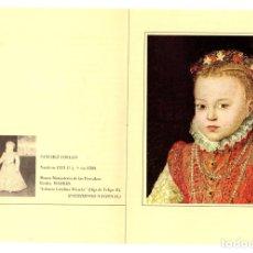 Postales: TARJETA POSTAL SANCHEZ COELLO. INFANTA CATALINA MICAELA. SERIE GRANDES MAESTROS NZ 17.. Lote 143398598