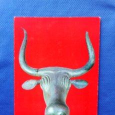 Postales: TARJETA POSTAL TORO DE COSTITX. MUSEO ARQUEOLÓGICO NACIONAL. SIN CIRCULAR. Lote 145142802