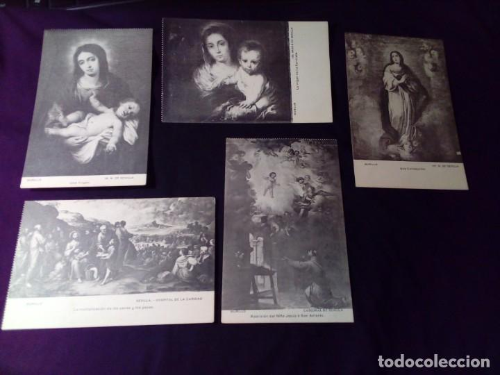 Postales: Lote postales Murillo Sevilla La coste sin circular - Foto 5 - 146567390