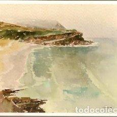 Postales: PORTUGAL ** & PLAYA DE LAS MANZANAS,AGUARELA DE M. ROSADO, PAISAJE DE SINTRA Y CASCAIS CASCAIS (5544. Lote 147246982