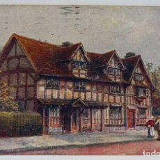 Postales: SHAKESPEARE´S BIRTHPLACE STRATFORD - UPON - AVON 1949. Lote 147351374