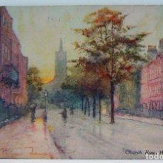 Postales: CHURCH ROW HAMPSTEAD OILETTE. Lote 147357930