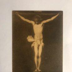 Postales: NUESTRO SEÑOR CRUCIFICADO. ESTAMPA RELIGIOSA. PINTURA ALONSO CANO (H.1940?). Lote 147400497
