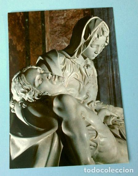 LA PIEDAD DE MIGUEL ANGEL - BASILICA DE SAN PEDRO (Postales - Postales Temáticas - Arte)