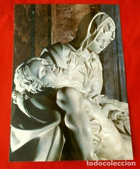 Postales: LA PIEDAD DE MIGUEL ANGEL - BASILICA DE SAN PEDRO - Foto 2 - 147707526