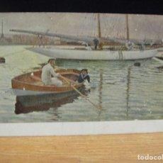 Postales: JUAN LLAVERIAS - FUTURO YACKMAN - EDICIONES VICTORIA , COLL SALIETI - SIN CIRCULAR. Lote 147759474