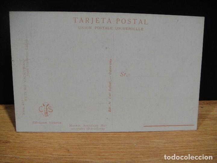 Postales: juan llaverias - futuro yackman - ediciones victoria , coll salieti - sin circular - Foto 2 - 147759474