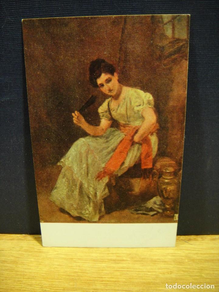SIMON GOMEZ - PENSATIVA - EDICIONES VICTORIA , COLL SALIETI - SIN CIRCULAR (Postales - Postales Temáticas - Arte)