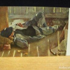 Postales: LOPEZ MEZQUITA - LA SIESTA - EDICIONES VICTORIA , COLL SALIETI - SIN CIRCULAR. Lote 147760050