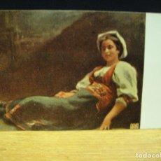 Postales: R. DE MADRAZO - CAMPESINA ROMANA - EDICIONES VICTORIA , COLL SALIETI - SIN CIRCULAR. Lote 147760202
