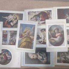Postales: LOTE 18 POSTALES ANTIGUAS, AÑOS 30. CUADROS PINTURAS EN ROMA. Lote 149030790