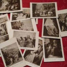 Postales: MUSEO MUNICIPAL DE SAN SEBASTIAN .- 16 POSTALES FOTO RESINES. Lote 149057838