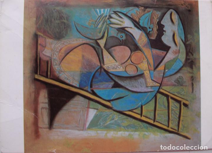 POSTAL PABLO PICASSO (1881-1973) WOMAN WITH PIGEONS. (Postales - Postales Temáticas - Arte)