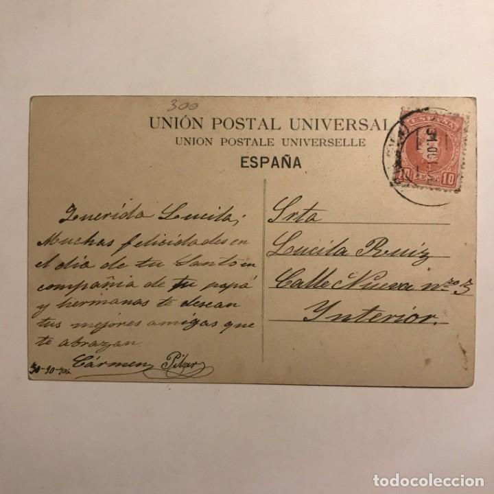 Postales: 1906 Sta Calvó en La trapera. Circulada - Foto 3 - 149273590
