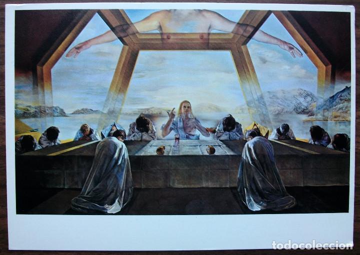 POSTAL DALI - LA CENE (CHICA JOVEN EN LA VENTANA) Nº 1080 (Postales - Postales Temáticas - Arte)
