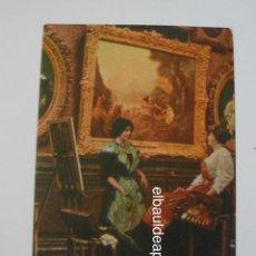 Postales: Nº 190. PARIS. MUSEO DEL LOUVRE WATTEAU. LE DEFART POUR CYTHIRE. 1923. SIN CIRCULAR. CCTT. Lote 149951262
