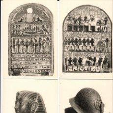 Postales: MUSEO EGIPCIO DE TURÍN - 18 POSTALES EN B/N - AÑOS 1960. Lote 150332366